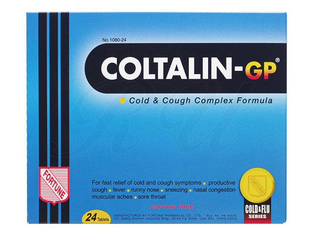 コルタリンGP(総合感冒薬・咳止め成分入り) 24錠