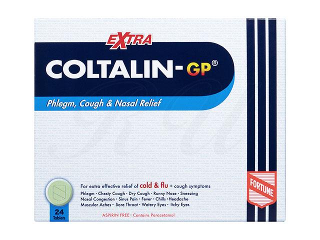 コルタリンGPエクストラ(総合感冒薬・成分強力+咳止め成分入り) 24錠