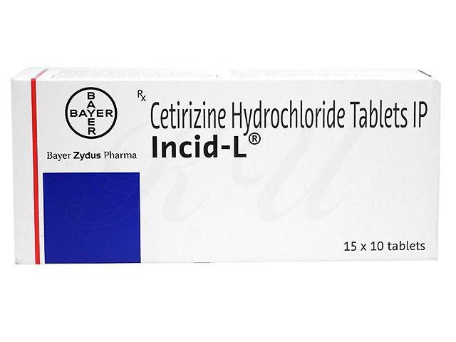 インシッドL(ジルテックジェネリック)個人輸入 | 効果 | 花粉症 ...