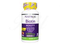 [Natrol]ビオチン(Biotin)5000mcg・ファーストディゾルブ