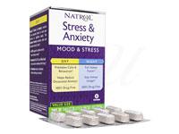 [Natrol]Stress&Anxiety(Day+Night)30錠+30錠セット