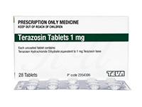 テラゾシン1mg(Terazosin Tablets)