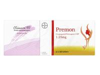 プレモン1.25mg+クリマラ100-4パッチ