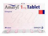 アマリール1mg30錠(Amaryl1mg)