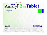 アマリール2mg30錠(Amaryl2mg)