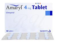 アマリール4mg30錠(Amaryl4mg)