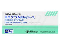 エチゾラム錠1mg[トーワ]