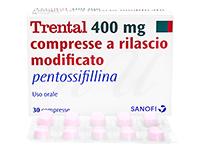 トレンタール(ペントキシフィリン)(Trental)400mg