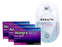 アレグラ180mg + ブレスマスクホワイト