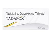 タダラフィル20mg+ダポキセチン60mg(タダポックス)