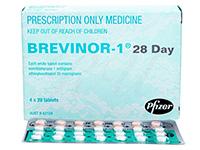 ブレビノール-1(Brevinor-1)112錠
